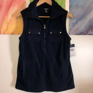 Chaps Navy Blue Vest